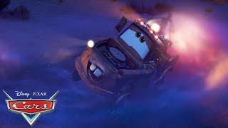 Driving Backwards with Mater! | Pixar Cars