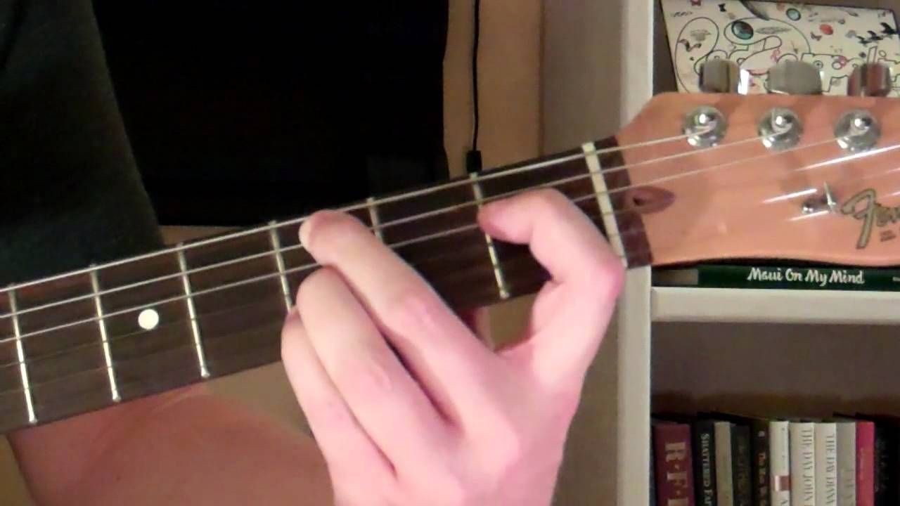 How To Play The Cm9 Chord On Guitar C Minor Ninth 9th Youtube