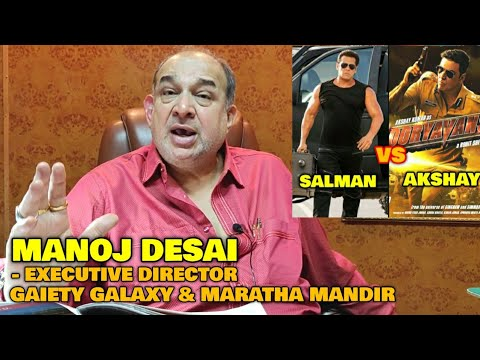 Salman Khan vs Akshay Kumar On EID 2020 | Manoj Desai EXCLUSIVE REACTION | Box Office Challange Mp3