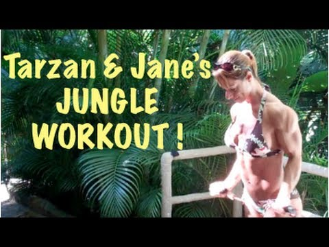 Jungle Muscle BICEP Workout - Blast Your Biceps!