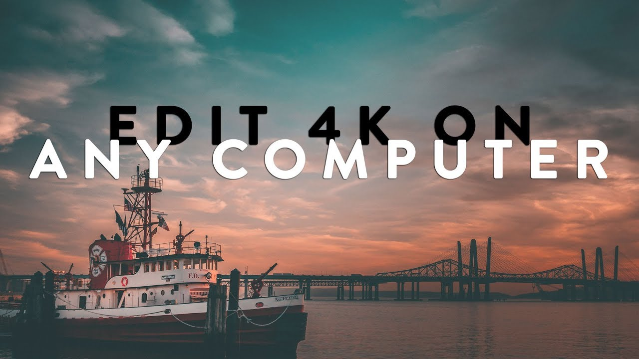 How To Edit 4K On Any Computer Using Final Cut Pro (Proxy Workflow)