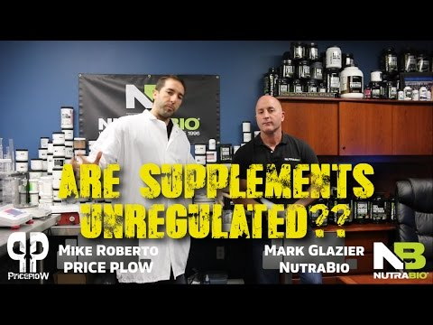 Are Supplements Unregulated? NutraBio's Mark Glazier Speaks Out
