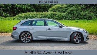 The Full Package: Audi RS4 Avant First Drive