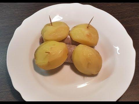 Как приготовить купаты с картофелем в духовке. Кулинарный рецепт