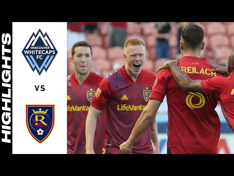 Vancouver Whitecaps Real Salt Lake Goals And Highlights