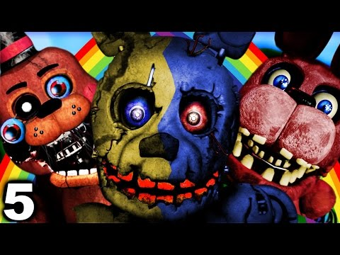 Five nights at freddy s abridged episode 5 fnaf 4 welcomes you
