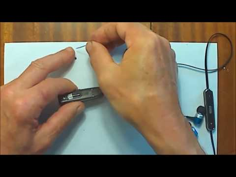 Разборка Bluetooth-гарнитуры SonyEricsson HBH-VP702