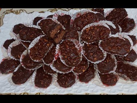 حصري❣-بدون-دقيق-أبيض-بدون-بيض-بدون-زيت-حلوة-لذيذة-بكمية-وفيرة-gâteau-au-chocolat-et-cacahuète