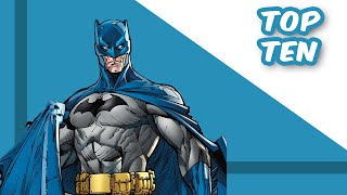 Top Ten Underrated Batman Villains