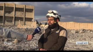 روسيا تكثف غاراتها على مدينة بصرى الشام الأثرية