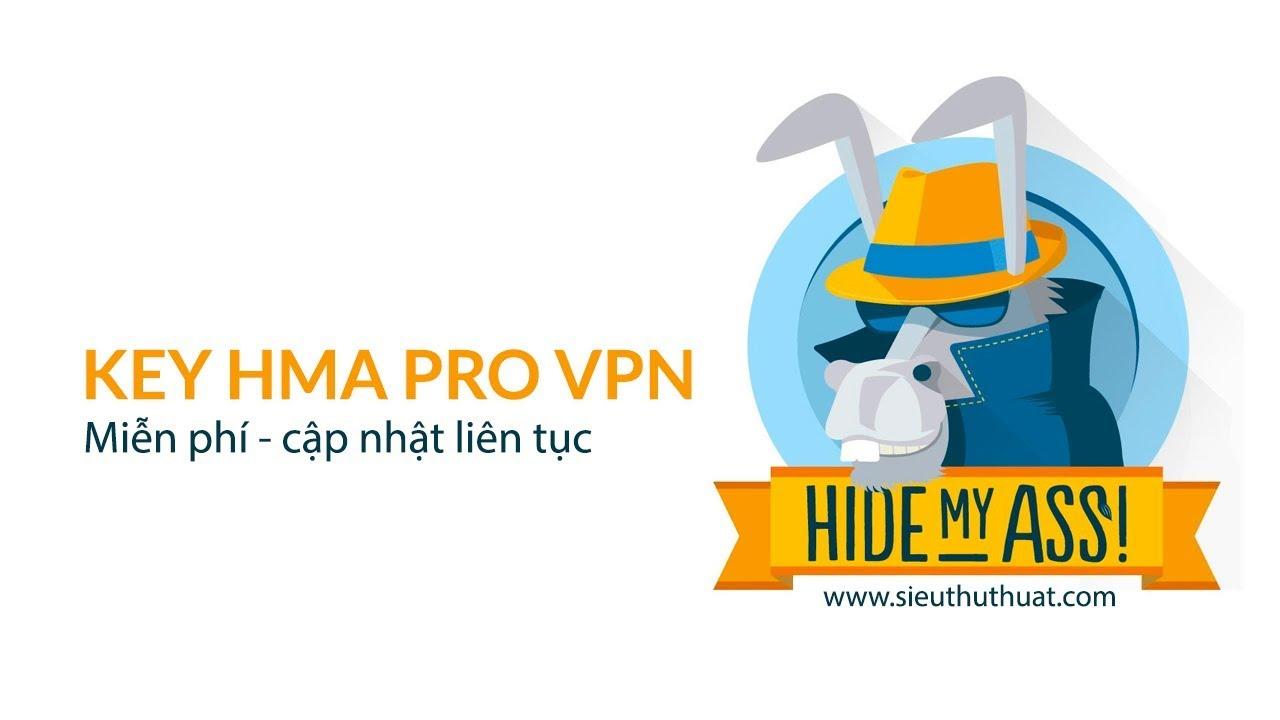 Share Key HMA Pro VPN bản quyền (cập nhật liên tục)