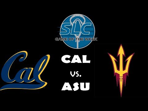 Cal Vs ASU - SLC Game Of The Week