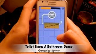 Toilet Time: A Bathroom Game, Gameplay + Review (Android)