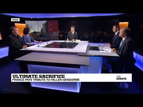 Ultimate sacrifice: France pays tribute to fallen gendarme