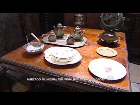 Feira de Antiguidades em Santos