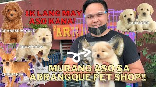LATEST PET PRICE LIST SA ARRANGQUE (2021) SOBRANG MURA!! ***MUST WATCH***