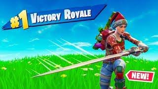 ניצחון מטורף עם החרב החדשה | FORTNITE !!!