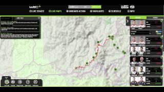WRC+ LIVE MAPS Demo