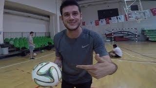 19 Mayis  Orkun+parkur+challenge+futbol