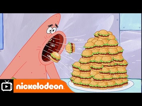 SpongeBob SquarePants | Krabby Patty Contest | Nickelodeon UK