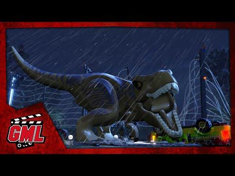 LEGO Jurassic Park - Film complet Français