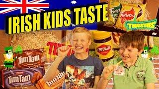 Irish People Taste Test Oktoberfest Foods