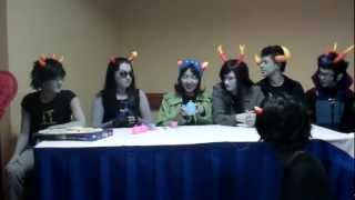 A Bucket Full Of Homestuck Act Ii: Anime Usa 2012 (captioned)