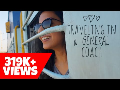 My First Rail Journey in General Compartment | Indian Train Travel