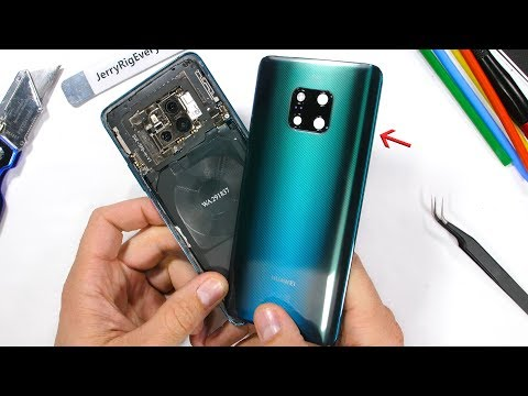 Mate 20 Pro Teardown Whats under the Musical Back?