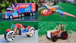 4 Amazing DIY TOYs | Awesome Ideas | Homemade Inventions
