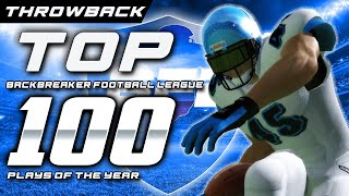 🏈 Once Upon A Time............ Backbreaker Football League Amazing Highlights