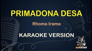 Primadona Desa Rhoma Irama ( Karaoke Dangdut Koplo ) - Taz Musik Karaoke