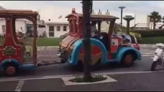 Servizio trenino per il Luna Park di Riccione