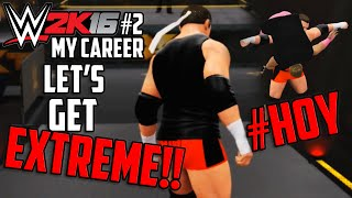 WWE 2K16 My Career #2: The Extreme Sumo/Tyler Breeze Feud