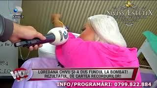 Marire fese prin injectare Aquafilling - Loredana Chivu la Wowbizz