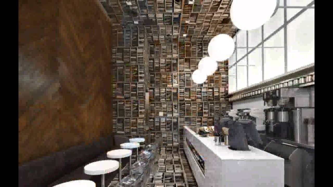 Coffee Shop Interior Design Ideas - YouTube