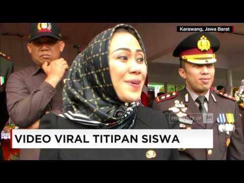 Viral Video Titipan Siswa, Bupati Karawang Ancam Pihak Yang Catut Namanya