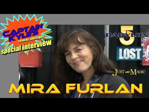 Mira Furlan Babylon 5, LOST  Captain Kyle Special