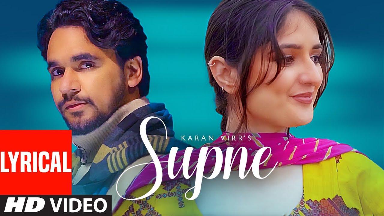 Supne (Full Lyrical Song) Karan Virr   Deejay Singh   Latest Punjabi Song 2021