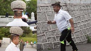 """""""ВЕРНЫЙ СПОСОБ ПОХУДЕТЬ"""" Китаец гулял с 40 килограммовым камнем на голове ради похудения"""
