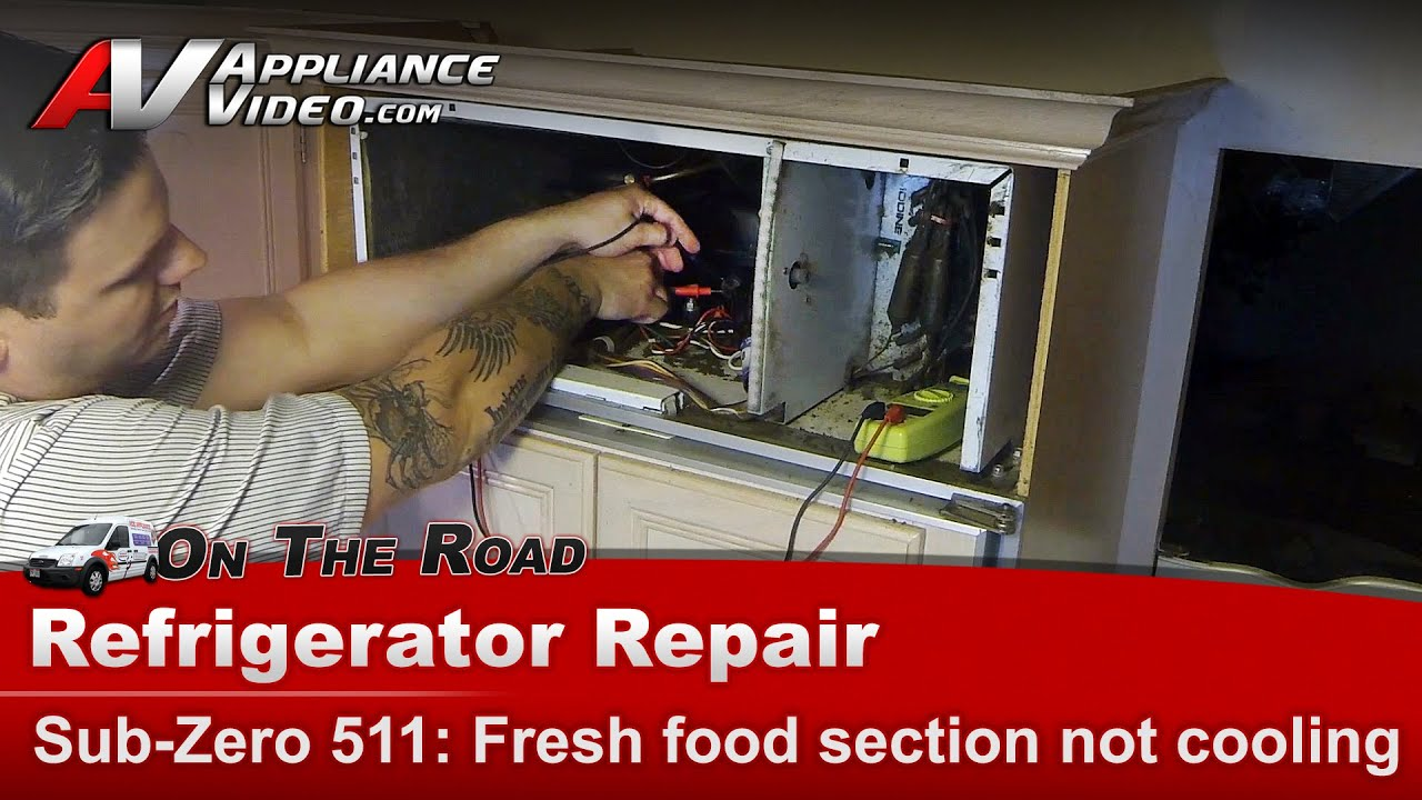 Sub Zero Refrigerator Not Cooling Diagnostic Compressor