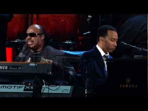 The Way You Make Me Feel (Live with John Legend) by Stevie Wonder