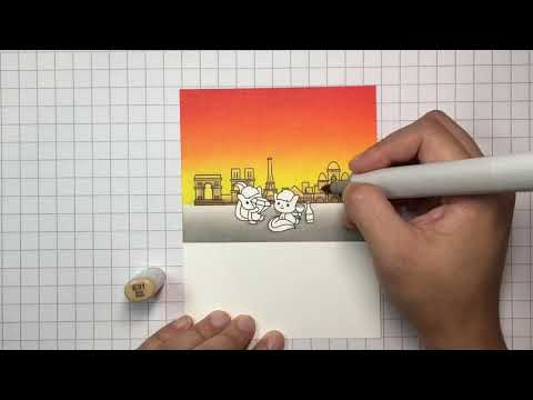Clearly Besotted Love Story Copic Colouring Tutorial thumbnail