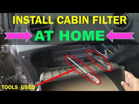 How To Install Replace Cabin Air Filter