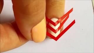 Красивый простой маникюр в домашних условиях  Уроки маникюра  1