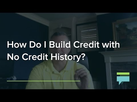 How Do Build Credit With No Credit History