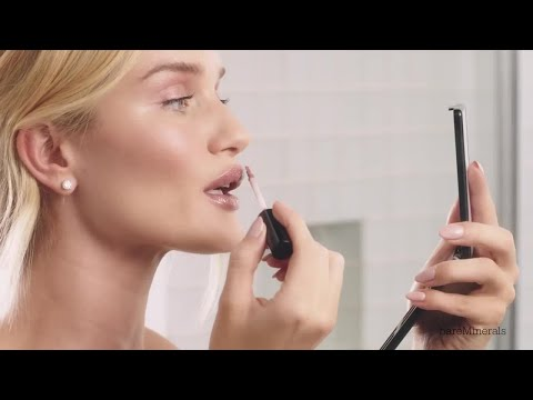 The Bare Glow: Rosie Huntington-Whiteley's Everyday Makeup Routine | BareMinerals