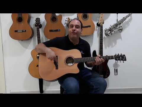 Violão Ibanez Art Wood AW 65 LG CE  - Território da Música