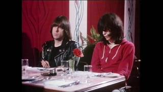 The Ramones - 1980 Dylan Taite NZ interview (RARE)