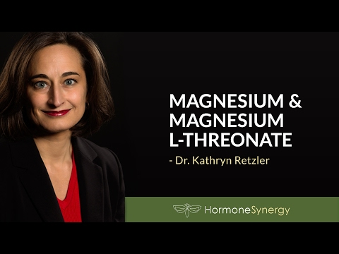 Magnesium, Magnesium L-threonate and Relax Synergy